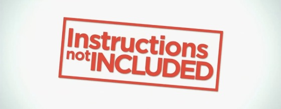 Instructions Not Included Title Movie Logo