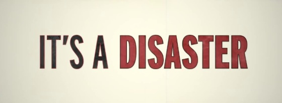 It's A Disaster Title Movie Logo