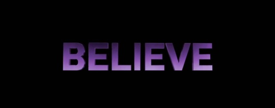 Justin Bieber's Believe Title Movie Logo