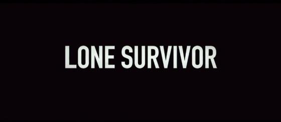 Lone Survivor Title Movie Logo