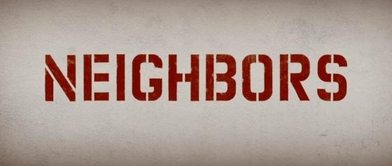 Neighbors Movie Title Logo