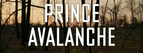 Prince Avalanche Title Movie Logo