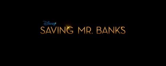Saving Mr. Banks Title Movie Logo