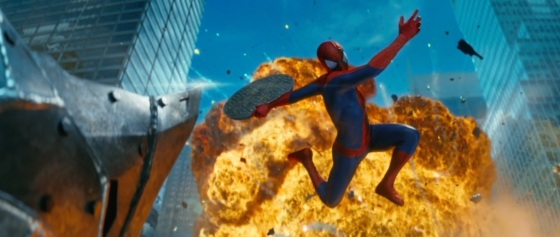 The Amazing Spider-Man 2 Teaser Trailer Explosion
