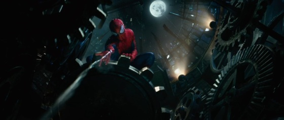 The Amazing Spider-Man 2 Teaser Trailer Web Slinging
