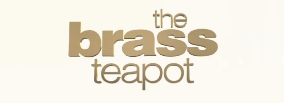 The Brass Teapot Title Movie Logo