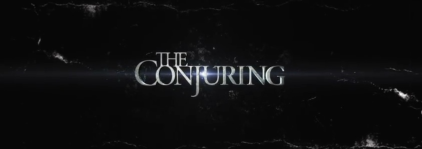 The Conjuring Title Movie Logo