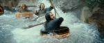 The Hobbit The Desolation of Smaug Teaser Barrel Fight