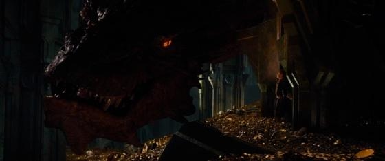 The Hobbit The Desolation of Smaug Teaser Dragon 3