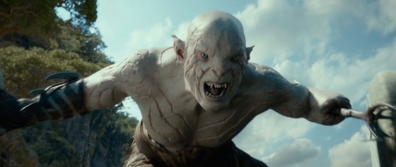 The Hobbit The Desolation of Smaug Teaser White Orc Azog