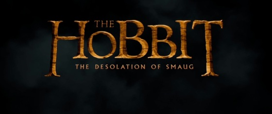 The Hobbit The Desolation of Smaug Title Movie Logo