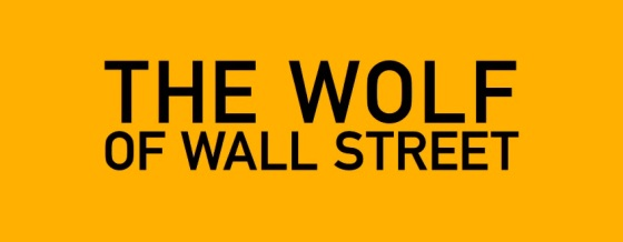 The Wolf of Wall Street Title Movie Logo