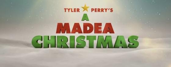 Tyler Perry's A Madea Christmas Title Movie Logo