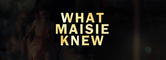What Maisie Knew Title Movie Logo