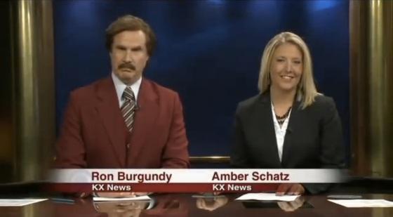 Will Ferrell Ron Burgundy Anchorman 2 North Dakota News
