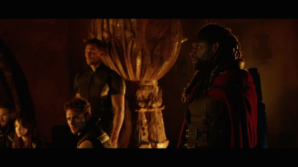 X-Men Days of Future Past Still Bishop