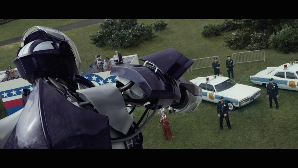 X-Men Days of Future Past Still Sentinel Attack