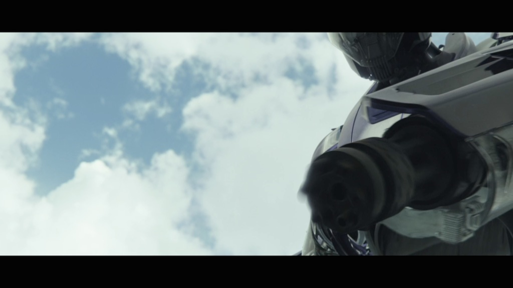 X-Men Days of Future Past Still Sentinel Gun