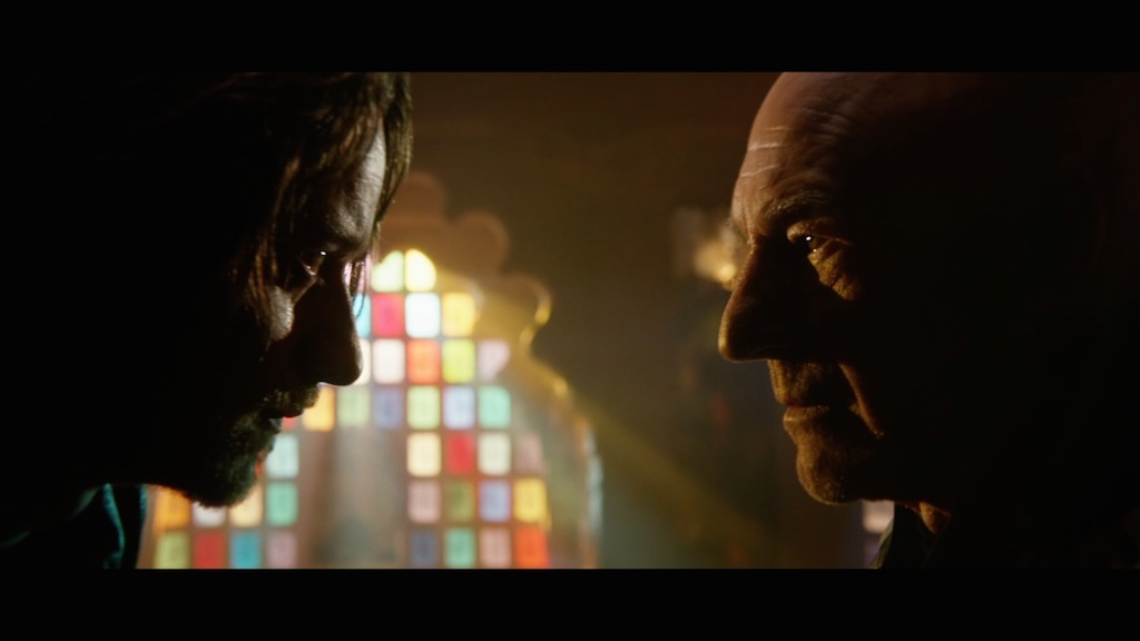 X-Men Days of Future Past Still Young and Old Xavier