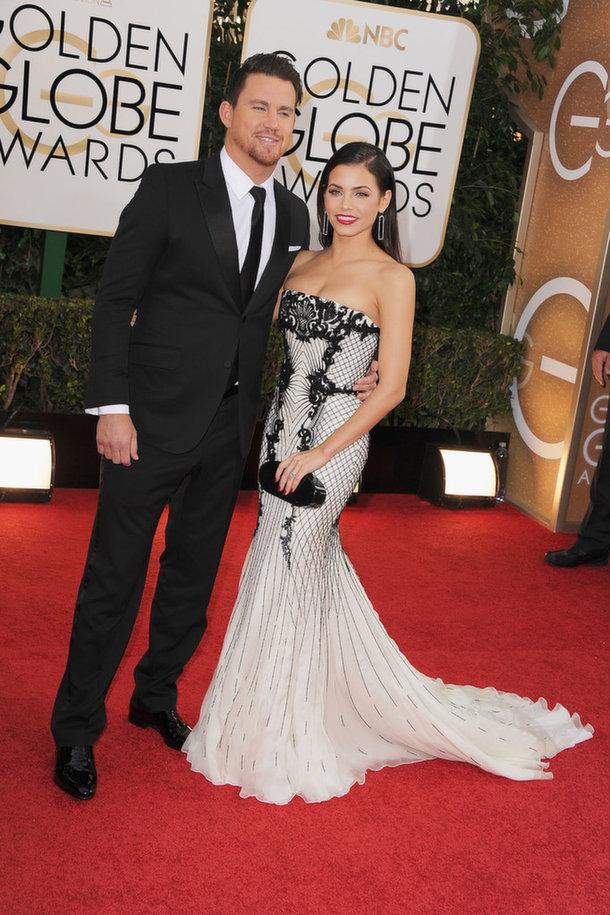 Channing Tatum Golden Globes 2014