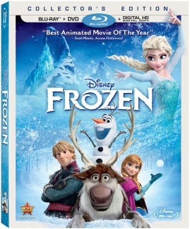 Disneys Animation Frozen Blu-Ray Box Art