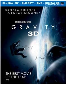 Gravity Movie DVD Blu Ray Box Cover Art