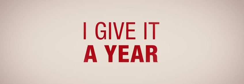 I Give It A Year Movie Title Logo