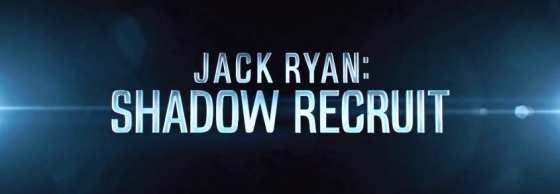 Jack Ryan Shadow Recruit Title Movie Logo