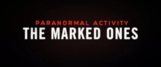 Paranormal Activity The Marked Ones Title Movie Logo