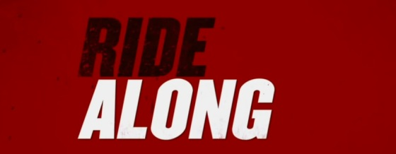 Ride Along Title Movie Logo