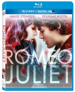 Romeo and Juliet 2013 Blu-Ray Cover Art