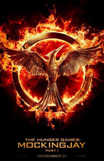The Hunger Games Mockingjay Part 1 Teaser Poster