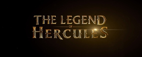 The Legend of Hercules Title Movie Logo