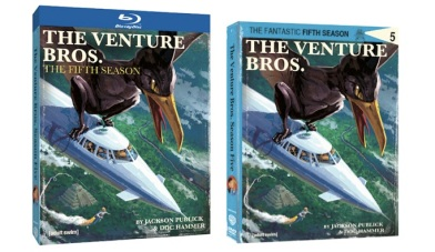 The Venture Bros. Season 5 Comes to Blu-Ray and DVD Box Cover Art