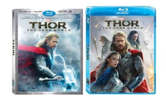 Thor The Dark World Blu-Ray Cover Art