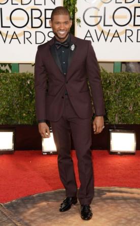 Usher Golden Globes 2014
