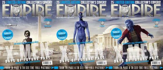 'X-Men Days of Future' Characters Empire Magazine Covers