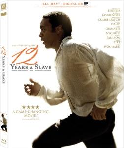 12 Years a Slave Blu-Ray Box Cover Art