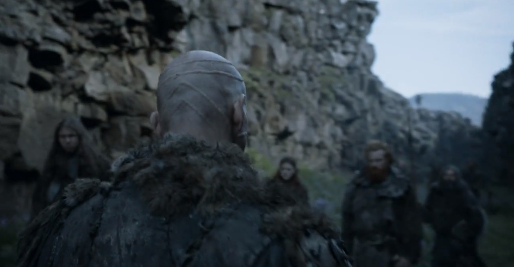 Game of Thrones Season 4 Vengeance Trailer Bald Man