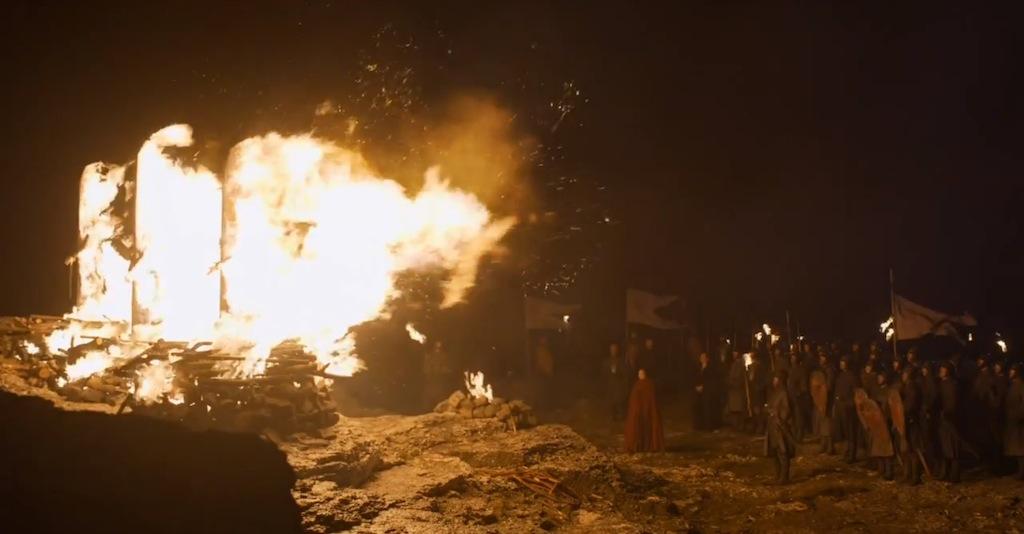 Game of Thrones Season 4 Vengeance Trailer Bon Fire
