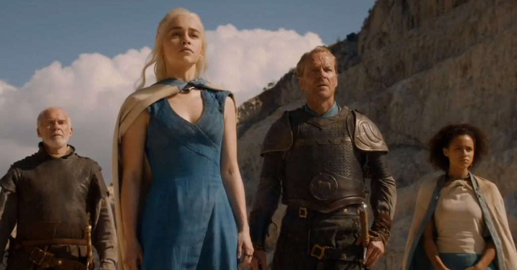 Game of Thrones Season 4 Vengeance Trailer Daenerys Targaryen