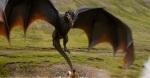 Game of Thrones Season 4 Vengeance Trailer Dragon