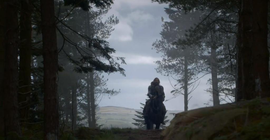 Game of Thrones Season 4 Vengeance Trailer Horse