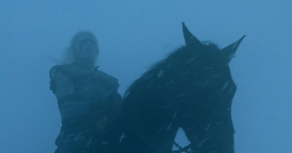 Game of Thrones Season 4 Vengeance Trailer White Walker