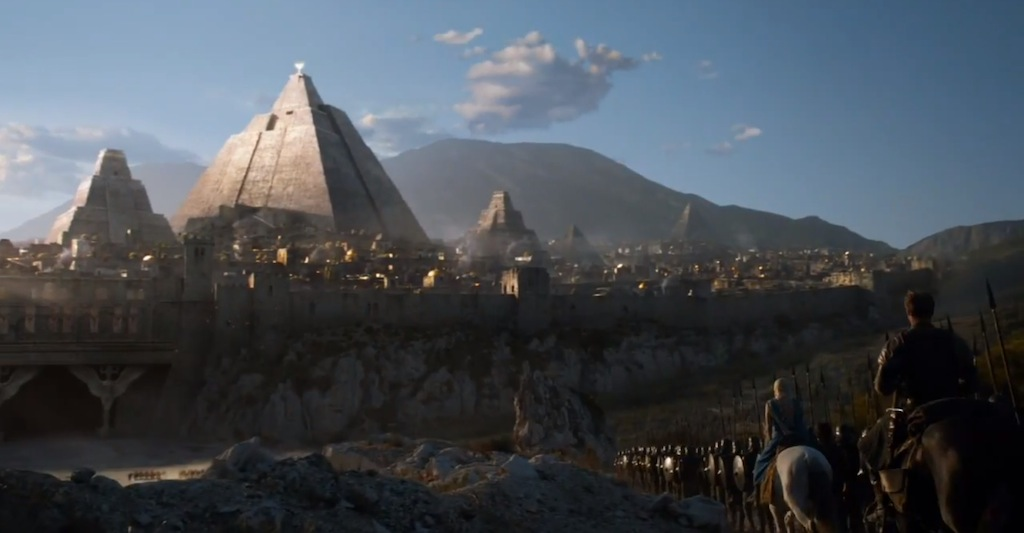 Game of Thrones Season 4 Vengeance Trailer Pyramid