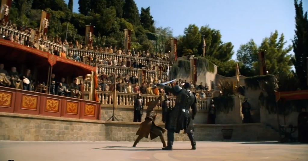 Game of Thrones Season 4 Vengeance Trailer Sword Fight