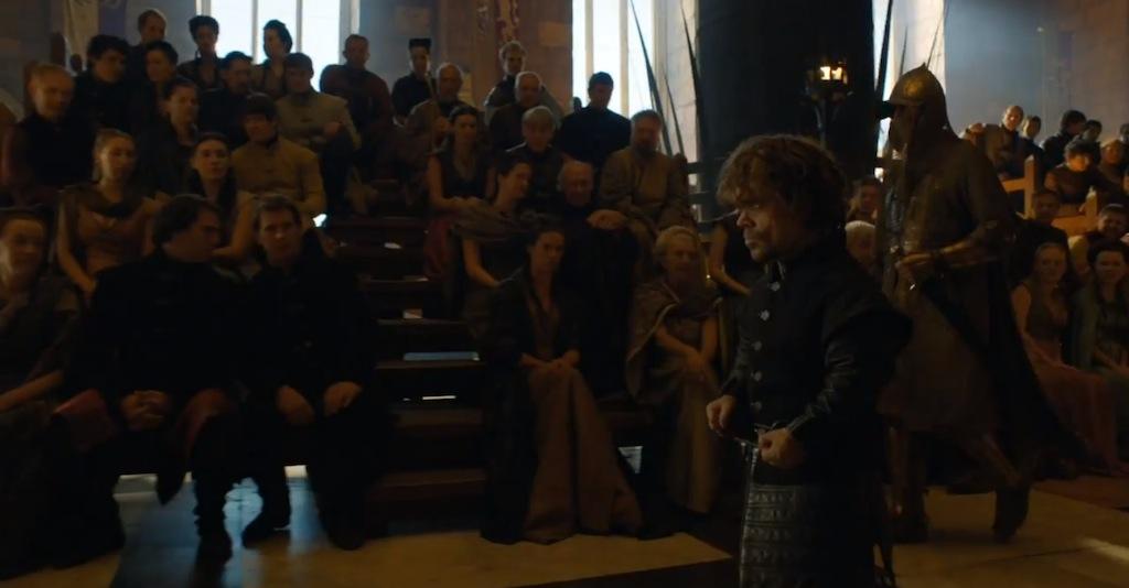 Game of Thrones Season 4 Vengeance Trailer Tyrion Prisoner