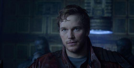 Guardians of the Galaxy Chris Pratt Star Lord