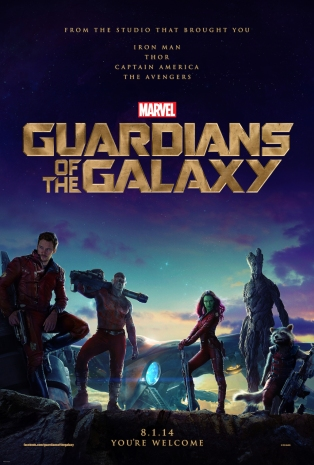 Guardians of the Galaxy Teaser Posster