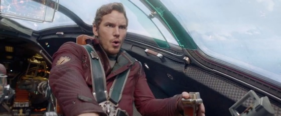 Guardians of the Galaxy Teaser Trailer Milano Pilot Quill